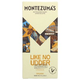 Montezuma's Montezuma's Like No Udder Organic Vegan Orange Alternative to Milk Chocolate 90g