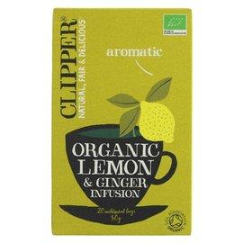 Clipper Clipper Organic Lemon & Ginger Tea 20 bags