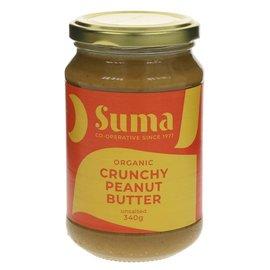 Suma Wholefoods Suma Wholefoods Organic Crunchy Peanut Butter 340g