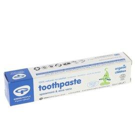 Green People Green People Childrens Organic Spearmint & Aloe Vera Toothpaste 50ml