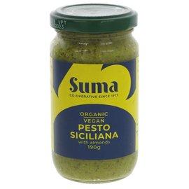 Suma Wholefoods Suma Wholefoods Organic Vegan Pesto Siciliano 190g