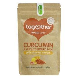 Together Health Together WholeHerbs Vegan Curcumin & Whole Turmeric Root 30 vegecaps