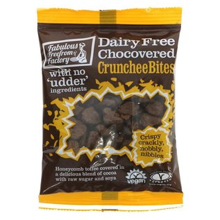 Fabulous Free From Factory Fabulous Free From Factory Vegan Chocovered Crunchee Bites 65g