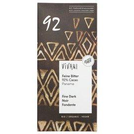 Vivani Vivani Premium Organic 92% Panama Estate Dark Chocolate 80g