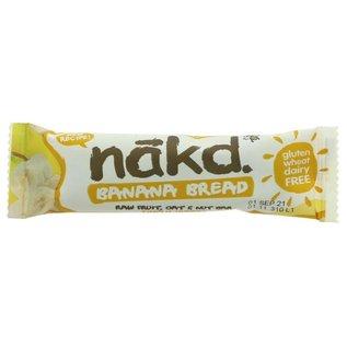 Nakd  Nakd Vegan Gluten Free Banana Bread Bar 30g