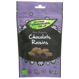 The Raw Chocolate Co The Raw Chocolate Co Organic Vegan Raw Chocolate Covered Raisins 125g
