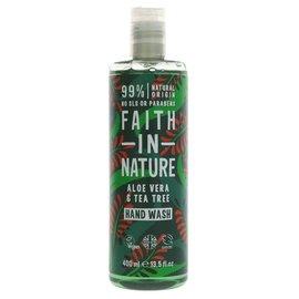 Faith In Nature Faith In Nature Aloe Vera & Tea Tree Hand Wash 400ml