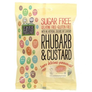 Free From Fellows Free From Fellows Rhubarb and Custard 70g