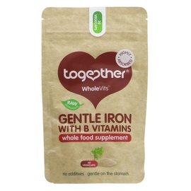 Together Health Together WholeVits Vegan Gentle Iron with B Vitamins 30 vegecaps