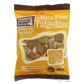 Fabulous Free From Factory Fabulous Free From Factory Vegan Fudgee Bites 75g