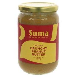 Suma Wholefoods Suma Wholefoods Organic Crunchy Salted Peanut Butter 700g