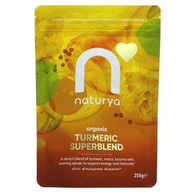 Naturya Naturya Organic Vegan Gluten Free Turmeric Superblend 250g