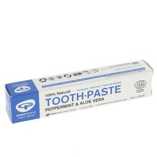 Green People Green People Organic Peppermint & Aloe Vera Toothpaste 50ml