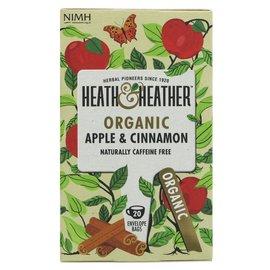Heath & Heather Heath & Heather Organic Apple & Cinnamon 20 bags