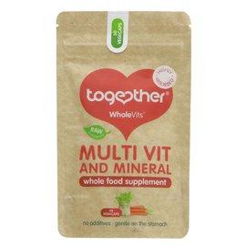 Together Health Together WholeVits Vegan Multi Vit and Mineral 30 vegecaps