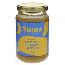 Suma Wholefoods Suma Wholefoods Organic Smooth Peanut Butter 340g