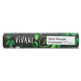 Vivani Vivani Organic Vegan Dark Nougat Chocolate Croccante 35g
