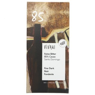 Vivani Vivani Premium Organic 85% Dark Chocolate 100g