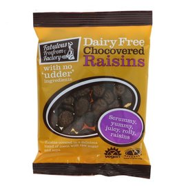 Fabulous Free From Factory Fabulous Free From Factory Vegan Chocovered Raisins 75g