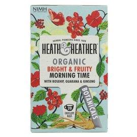 Heath & Heather Heath & Heather Organic Morning Time Tea 20 bags