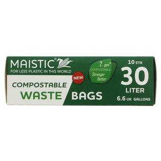 Maistic Maistic Compostable Bin Liner 30L 10 liners