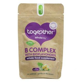 Together Health  Together WholeVits Vegan B Complex with Bioflavonoids 30 vegecaps