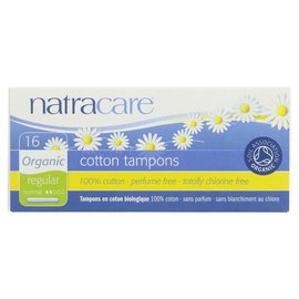 Natracare Natracare Organic Cotton Regular Tampons with Applicator 16 Tampons