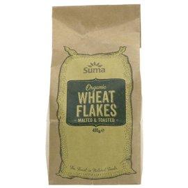 Suma Wholefoods Suma Wholefoods Organic Toasted Malted Wheat Flakes 400g