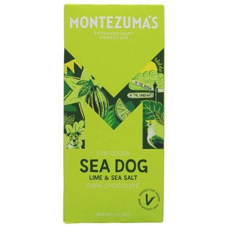 Montezuma's Montezuma's Sea Dog 70% Dark Chocolate with Lime & Sea Salt 90g