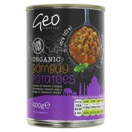 GeoOrganics Geo Organics Organic Vegan Bombay Potatoes 400g