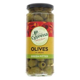 Cypressa Cypressa Pitted Green Olives 340g