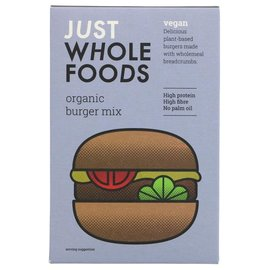 Just Wholefoods Just Wholefoods Organic Burger Mix 125g