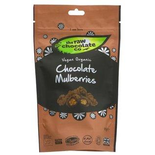 The Raw Chocolate Co The Raw Chocolate Co Organic Vegan Chocolate Coated Mulberries 125g