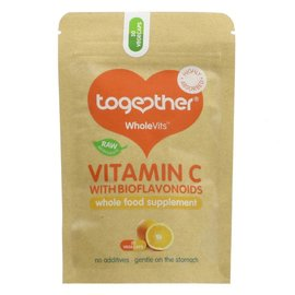 Together Health Together WholeVits Vitamin C with Bioflavonoids 30 vegcaps