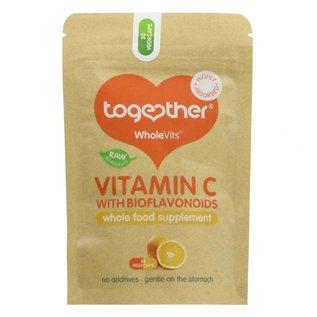 Together Health Together WholeVits Vitamin C with Bioflavonoids 30 vegcaps
