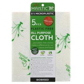 Maistic Maistic Microplastic Free All Purpose Viscose Cloths 5 cloths