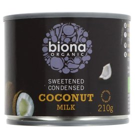 Biona Biona Organic Vegan Condensed Coconut Milk 210ml