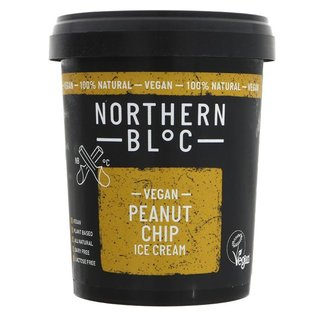Northern Bloc Northern Bloc Vegan Peanut Chip Ice Cream 500ml
