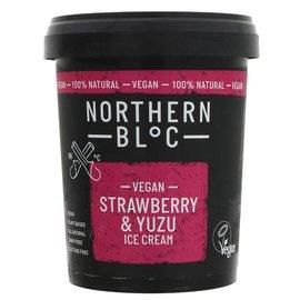 Northern Bloc Northern Bloc Vegan Strawberry & Yuzu Ice Cream 500ml