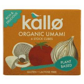 Kallo Kallo Organic Umami Stock Cubes 66g
