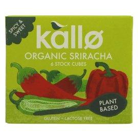 Kallo Kallo Organic Sriracha Stock Cubes 66g