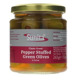 Sunita Sunita Pepper Stuffed Olives 265g