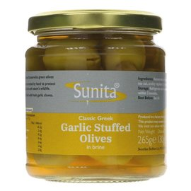 Sunita Sunita Garlic Stuffed Olives 265g