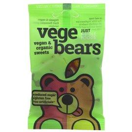 Just Wholefoods Just Wholefoods Organic Vegebears Fruit Jellies 70g