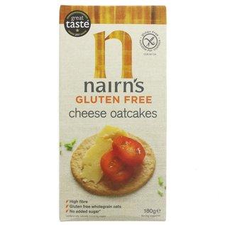 Nairns Nairns Gluten Free Cheese Oatcakes 180g
