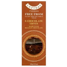 Lazy Day Lazy Day Free From Belgian Chocolate Tiffin 150g