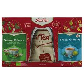 Yogi Tea Yogi Tea Gift Pack with Back Pack