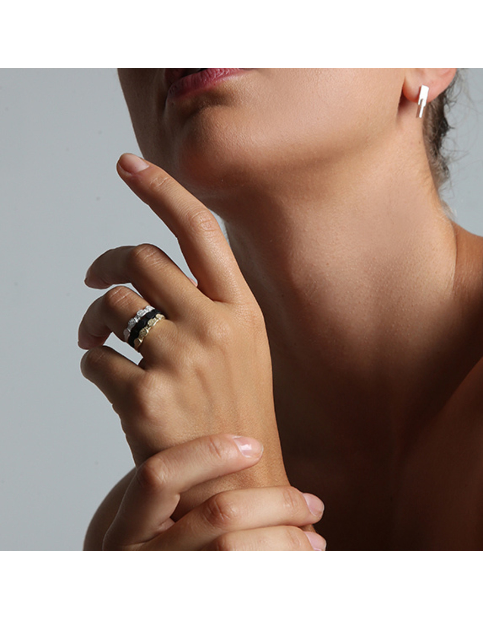 Ola Ring Minimal Solid, Goud