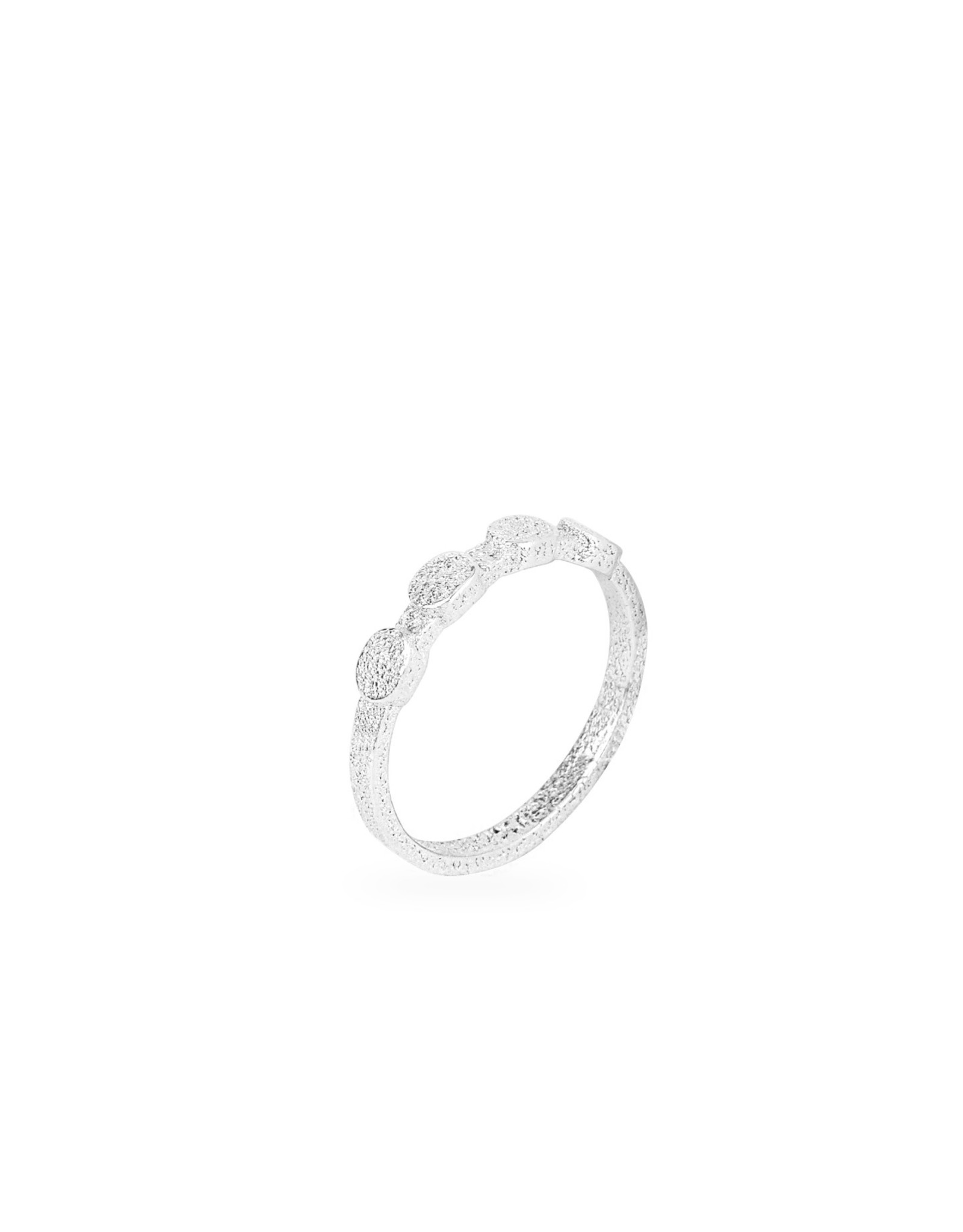 Ola Ring Minimal Solid, Zilver