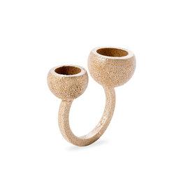 Ola Ring Bauhaus Ball III, Goud